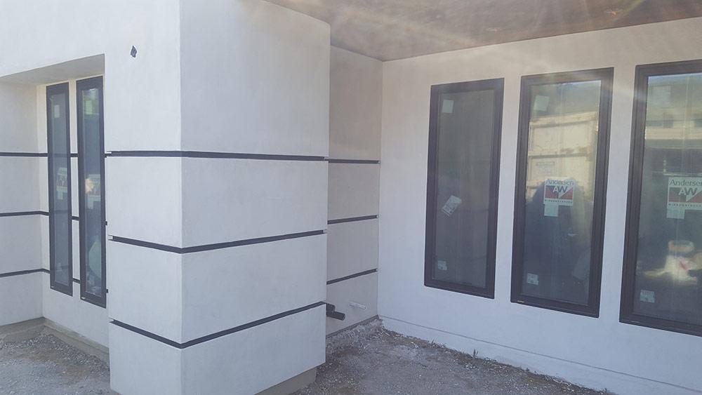 Custom Home Smooth Stucco San Diego Ca Nu Wall Inc