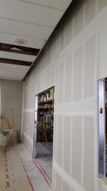 Waxie Janitorial Supply Demising Wall Project In San Diego